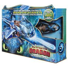 Dragons DreamWorks Giant Toothless 20'' Fire Breathing Effects  for Kids Aged 4+