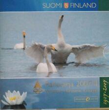 manueduc   FINLANDIA 2007 II  CARTERA OFICIAL 9 Monedas con 5 Euros  BU  NUEVA