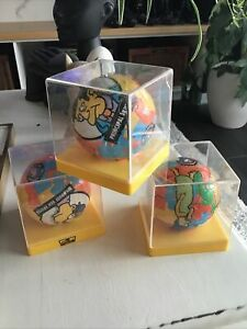 The Simpsons 3D Sphere Puzzle Ball X 3 No 12, 2 & 7 Marge Mr Skinner Milhouse