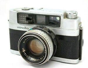 *Very Rare* Vintage Minolta V3 35mm Rangefinder Camera w/1:1.8 Lens #F024f