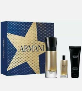 ARMANI CODE ABSOLU Gift Set, 60ml EDP Spray + 15ml EDP Spray + 75ml Shower Gel