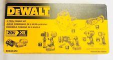 DEWALT DCK694P2 20V Max Brushless XR Cordless 6 Tool Combo Kit with Case - NEW !
