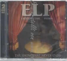 CD--LAKE & PALMER EMERSON--THE SHOW THAT NEVER ENDS | DOPPEL-CD