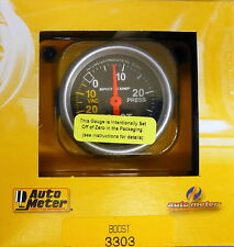 Auto Meter 3303 Sport Comp Vacuum Boost Mechanical Gauge 2 1/16 30 In.Hg/ 30 PSI