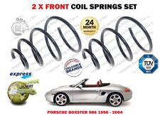 FOR PORSCHE BOXSTER 986 2.5 2.7 1996-2004 NEW 2 X FRONT COIL SPRING SET