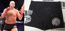 Fedor Emelienenko Signed Bellator MSG 2017 Fight Used Worn Shorts Trunks BAS COA