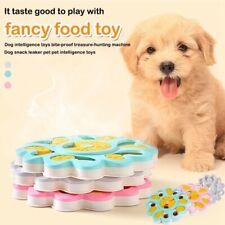 Interactive Pet Dog Puzzle Toys Treat Dispensing Bowl Feeder Maze Training Games
