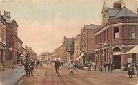 POSTCARD BERKSHIRE SLOUGH   - POST OFFICE - TOWN HALL  Circa 1909  - RP