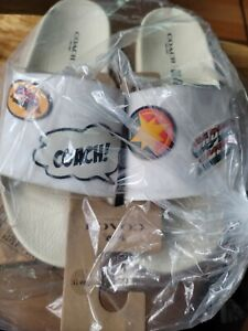 Coach X Marvel Slippers