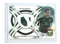 2013 Topps MLS Memorabilia Relic KIT-JJ Jack Jewsbury Jersey Portland Timbers