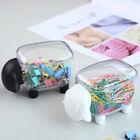 Cute Sheep Creative Mini Plastic Cotton Swab Storage Box Household Dust-proof.
