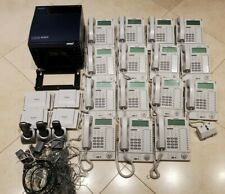 Panasonic KX-TDA100 Hybrid IP PBX Phone System KIT with 15 Phones & 3 Hand Sets