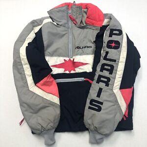 Polaris Ski Jacket VTG Thinsulate USA Made Womens Size Large Vintage Winter Coat
