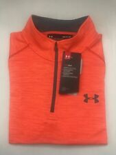 NEW UNDER ARMOUR MEN'S L/S LOOSE HEAT GEAR PULL OVER/TOP TWISTED  SZ  S_2XL NWT