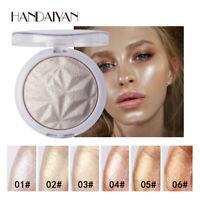 Makeup Shimmer Highlighter Beauty Face Glitter Highlighter Palette Glow Contour