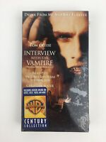 Interview With The Vampire VHS Movie Tom Cruise Brad Pitt VHS Brand New Sealed