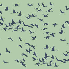 Flock of Cranes Craft Stencil - Size Small - By Cutting Edge Stencils