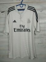 Real Madrid Jersey 2014 2015 Home Size XL Shirt Soccer Football Adidas F50637