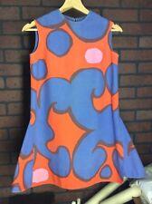 New listing Rare True Vintage 1960's Marimekko Mod Dress Suomi Finland