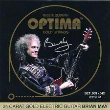 OPTIMA Gold Electric Guitar Strings | Brian May Custom Set | 009 - 042 | 2028 BM