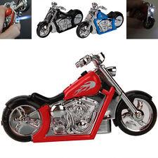 1X Cool Motorcycle Shape Windproof Butane Gas Cigarette Lighter Reusable QW