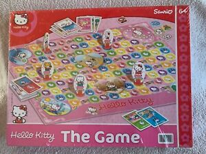 """Hello Kitty """"The Game"""" Board Game."""