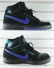 Nike Air Prestige III High Top - Black Purple Teal - 407036-053 - Size 15 Mens