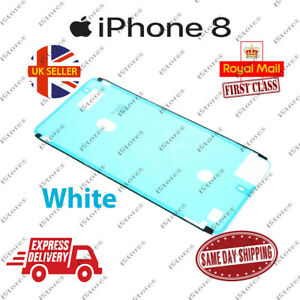 White iPhone 8 LCD Screen Frame Adhesive Waterproof Seal Sticker Replacement