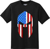 US Flag Mask Patriotic Freedom Gift Cool  America  T Shirt  New Graphic Tee