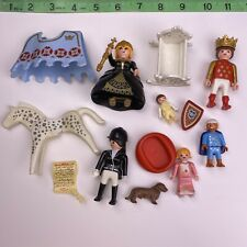 Playmobil Royalty & Victorian Lot Figures Queen Baby Kids King Cradle Dog Horse