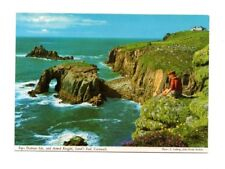 Cornwall - Lands End, Enys Dodman Isle and Armed Knight - Picture Postcard