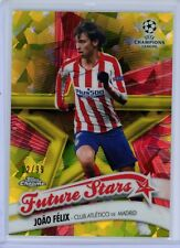 2019-20 Topps Chrome UEFA Sapphire Yellow Future Stars Joao Felix #12/99 Madrid