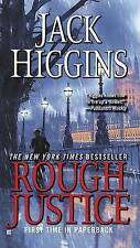 *BRAND NEW* Rough Justice by Jack Higgins Paperback 2009