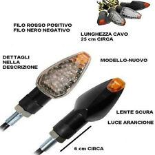 2 FRECCE MOTO UNIVERSALI 10 LED COB INDICATORE DIREZIONE LAMPAGGIANTI 12W HD-801