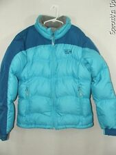 MOUNTAIN HARDWEAR down jacket coat Hunker Down? small womens blue