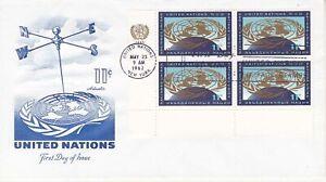 United Nations NY126 - Enveloppe 1er jour 1962 United Nations 11c