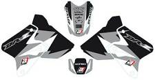 Blackbird Graphics BLACK Decal Kit Suzuki DRZ 400 '00-'10
