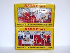 Atlas Editions 2 Sets Of 12 Metal French Road Signs