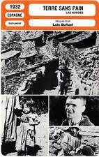 FICHE CINEMA : TERRE SANS PAIN - Jacquin,O'Neill,Bunuel 1932 Land Without Bread