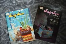 Vintage SANDY SCENES Books Volume I & II