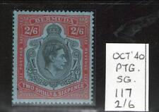 Bermuda George VI SG117 2/6 Oct. 40 ptg. superb MNH.