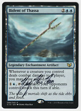 MTG X4: Bident of Thassa R LP FREE US SHIPPING! *FOIL* Theros Release PROMO