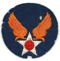 US ARMY AIR FORCE AAF HQ PATCH WW2 WWII AIR CORPS ORIGINAL WOOL FELT