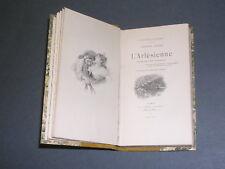 Alphonse Daudet l'Arlésienne Dentu 1892 petite collection Guillaume gravures