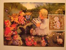 (FR2010) CHILD AND BOOK (KIND) 1979 FRANCE maximum maxi card postcard