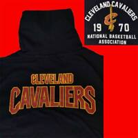 "LIMITED OFFICIAL NBA CLEVELAND CAVALIERS ""CAVS 1970"" HOODED T-SHIRT TEE XL"