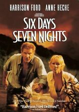 SIX DAYS SEVEN NIGHTS - HARRISON FORD - ORIGINAL 1998 WIDESCREEN DVD - MINT !!!