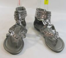Summer Steel Womens Shoes Roman Gladiator Sandals Size 6