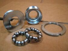 "Used Steel Bottom Bracket Cups/Bearings...English/BCS Threaded (1.37"" x 24 tpi)"