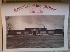 FUNDRAISER: Gamaliel High School 1936 - 1985 Monroe County, KY class composites